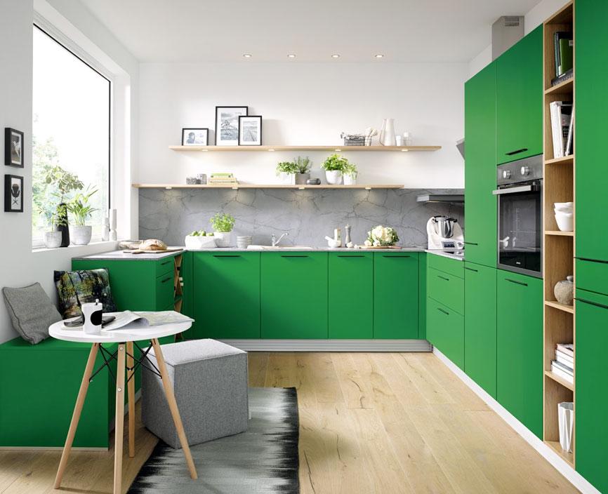 Biella Moss Green